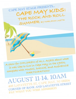 cape may kids poster