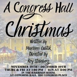 A CONGRESS HALL CHRISTMAS